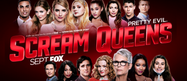 scream queens 2015 emma roberts ariana grande lea michele