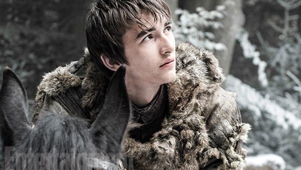 Bran Stark in een still uit seizoen 6.  ©EW / HBO
