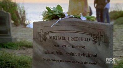 michael scofield graf dood terugkeer seizoen 5